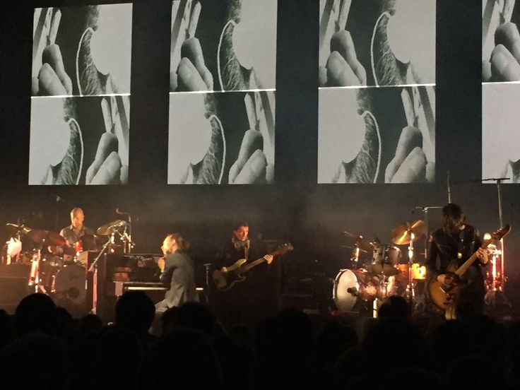 Thom Yorke, Radiohead, Nuits Fourvières, Lyon,  June 2016