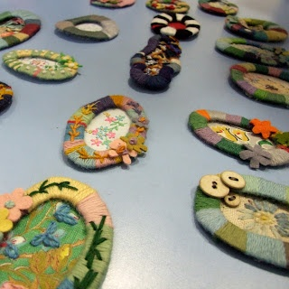 Julie Arkell - brooches