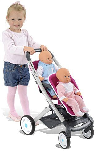 Bebé Confort - Twin, silla para muñecas (Smoby 521591)  #niños