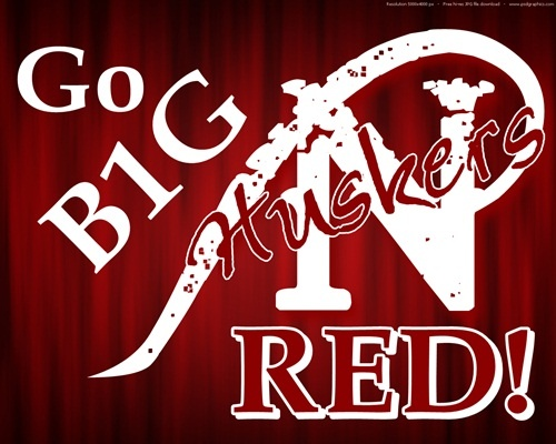 Big Red Sports >> Go Big Red Nebraska Cornhuskers Football Go Big Red