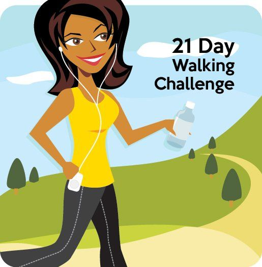 I challenge you to take the next 21 days to completely revamp your fitness level by cultivating a new workout habit: Brisk walking.