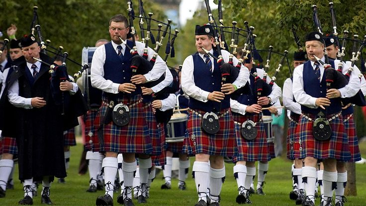 Jackie Bird presents highlights from the prestigious World Pipe Band…