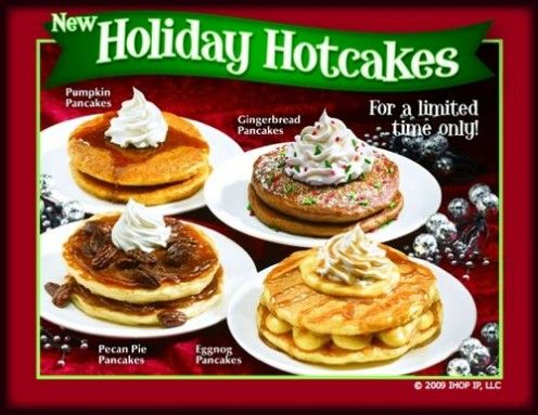 International House of Pancakes Copycat Recipes: IHOP Restaurants Creative Pancake Toppings