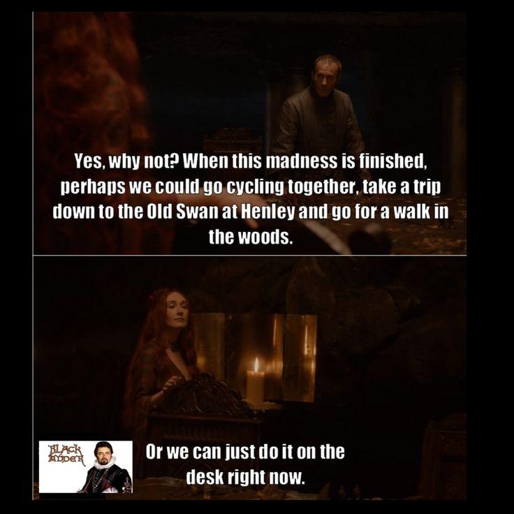Game of Adders Black - Blackadder meets Game of Thrones Pt 1