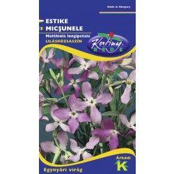 Az ESTIKE 30 cm magas lazán elágazó szürkészöld levelű, illatos az esti órákban nyíló egynyári virág
