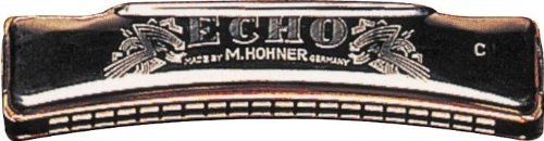Hohner 1495 Echo Harmonica, Minor C by Hohner. $80.00. Octave harmonica with double reeds. The bottom row of holes features the same notes as the top row, with reeds tuned exactly one octave apart. This enables a solo player to get a stronger, richer bodied sound than with a single reed harmonica. Octave models are popular in Cajun, Old Time, and Traditional music.. Save 30%!