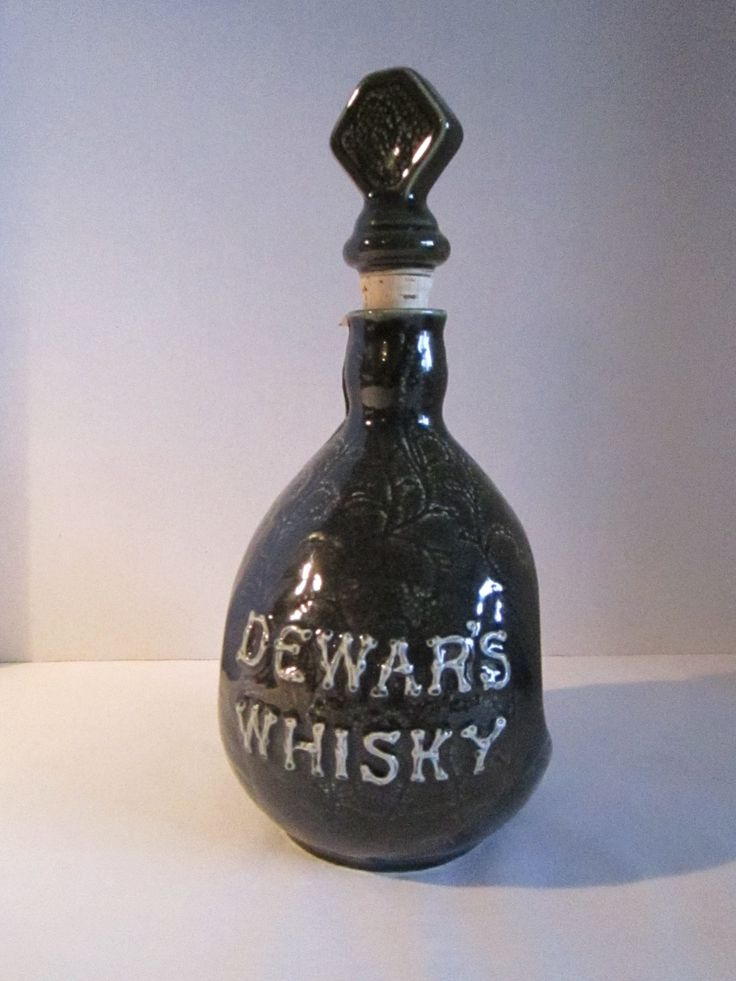 BIG SALE ** Vintage Collectable DEWARS Whisky decanter by TashasVintages on Etsy
