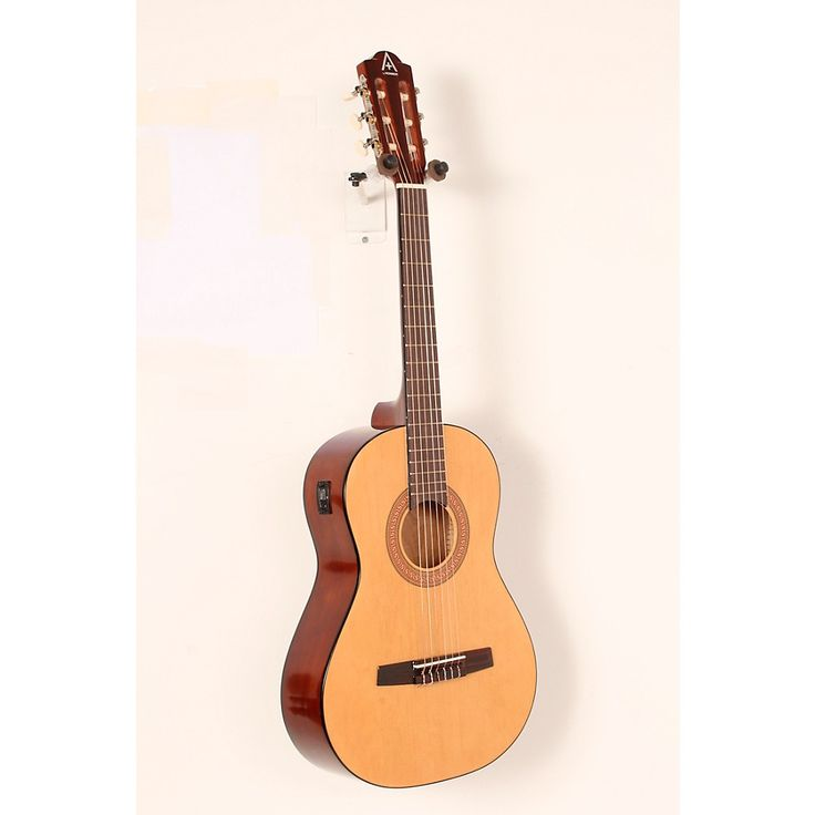Hohner A+ 3/4 Size Nylon String Acoustic Guitar with Tuner Natural 888366014400