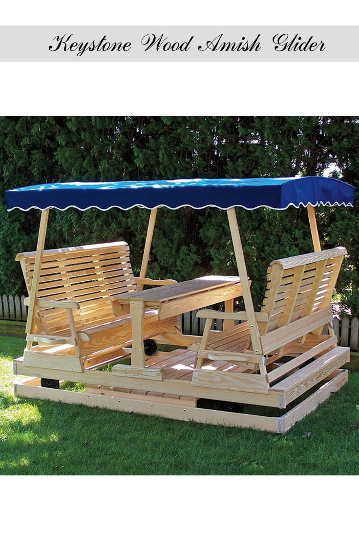 Keystone Wood Amish Glider Rustic Porch Swing Porch Swing Home Depot Amish Outdoor Furniture