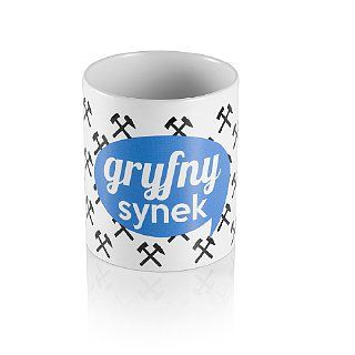 Kubek na kawa lub tyj GRYFNY SYNEK