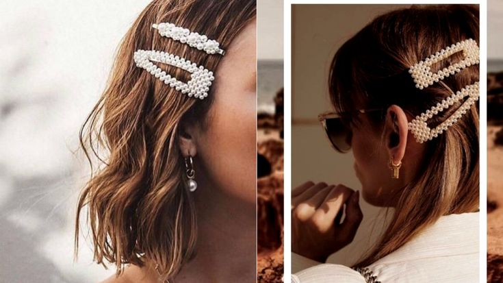 How To Rock Pearl Hair Clip Trend - 2019 Hotttest Hairstyles - Fashion Trend Seeker