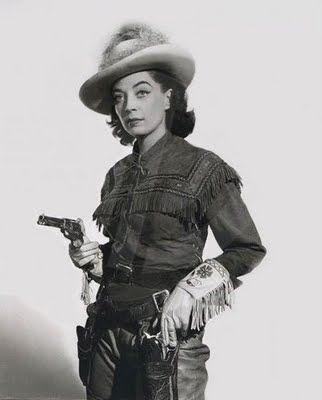 "Marie Windsor as Belle Starr in Stories of the Century:  ""Wanted, Belle Starr,"" television, 1954"