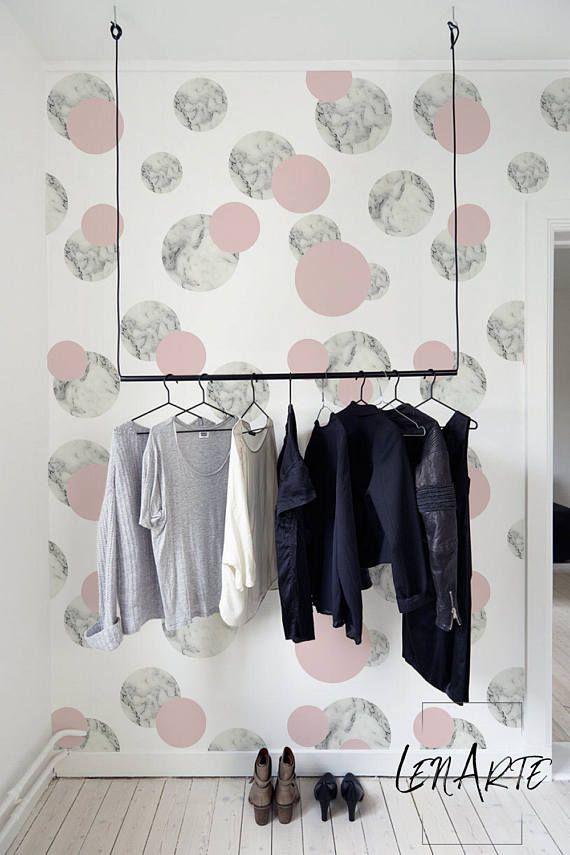 Marble Pink Pattern Wallpaper Minimalistic Wallpaper Pattern
