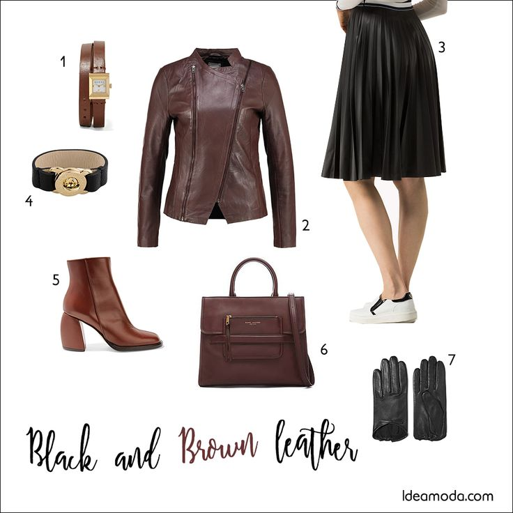 #shopping #blackleather #brownleather