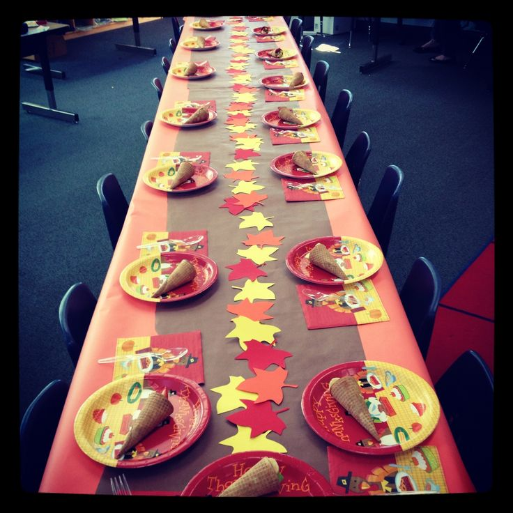 School thanksgiving feast this looks good for my program