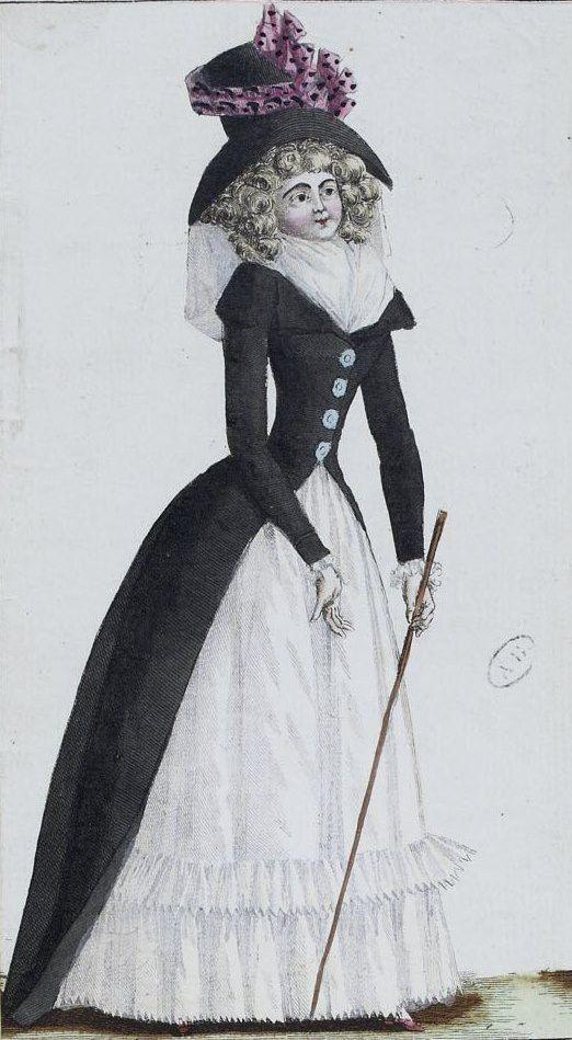 Magasin des modes nouvelles, françaises et anglaises: 21 Avril 1789