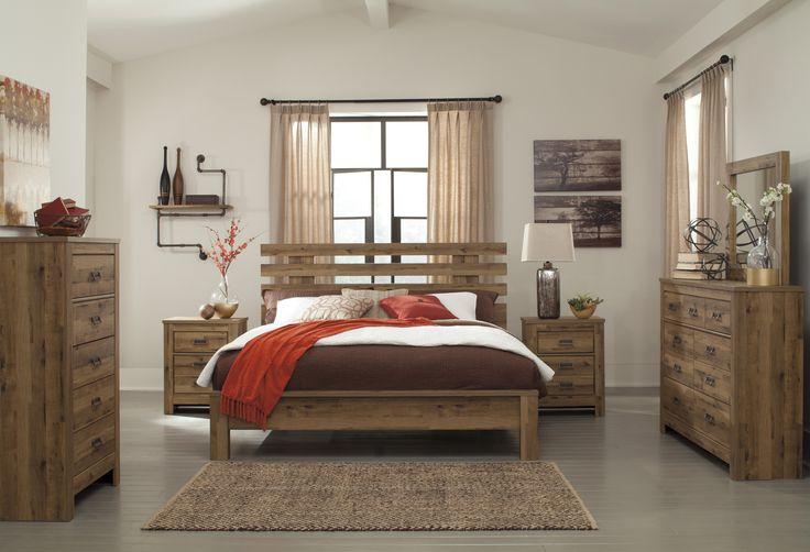 Cinrey Queen 5pc Floor Model Bedroom Set | Bedroom Group | Dallas TX Furniture