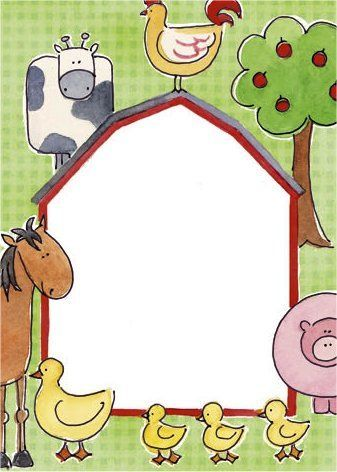 17 mejores ideas sobre animales de granja en pinterest - Dibujos en la pared infantiles ...