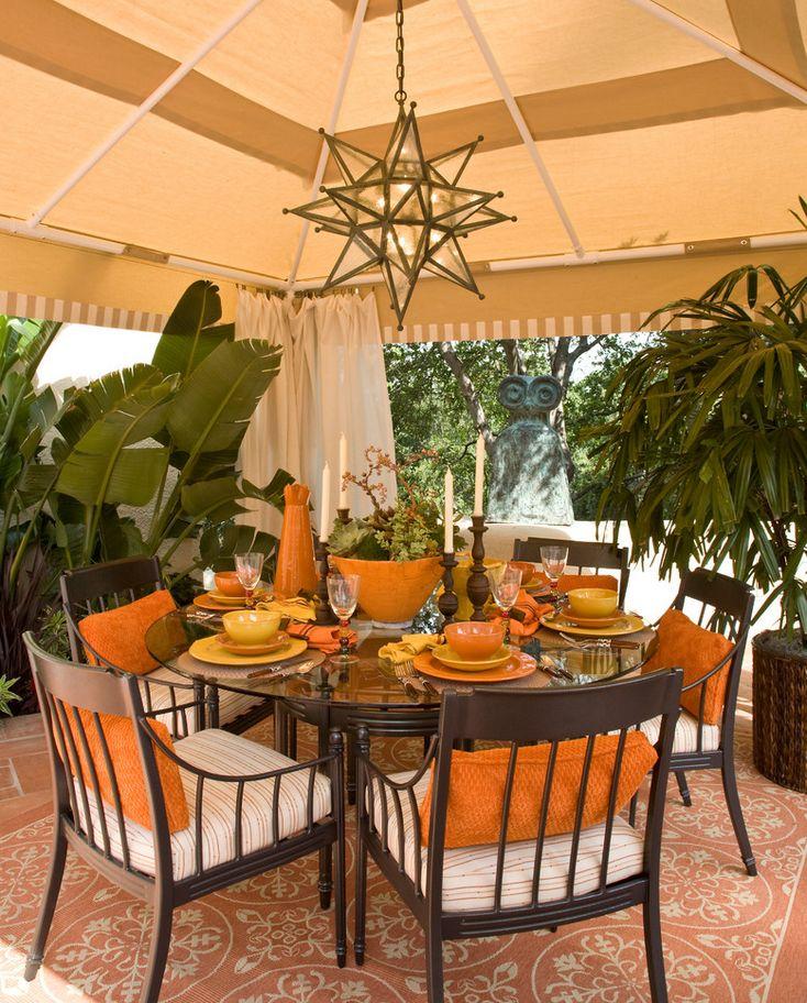 Mediterranean Patio Design in USA