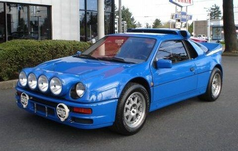 1986 Ford RS200 Group B Rally Car.