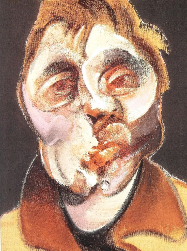 Francis Bacon, Self-portrait (1971).