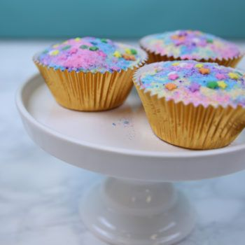 These DIY cupcake bath bombs are the stuff of unicorn dreams