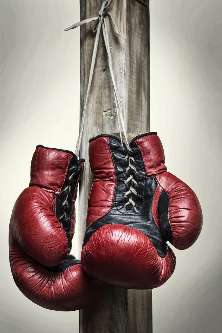Vintage boxing gloves    Boxing posters Boxing gloves  Red boxing gloves