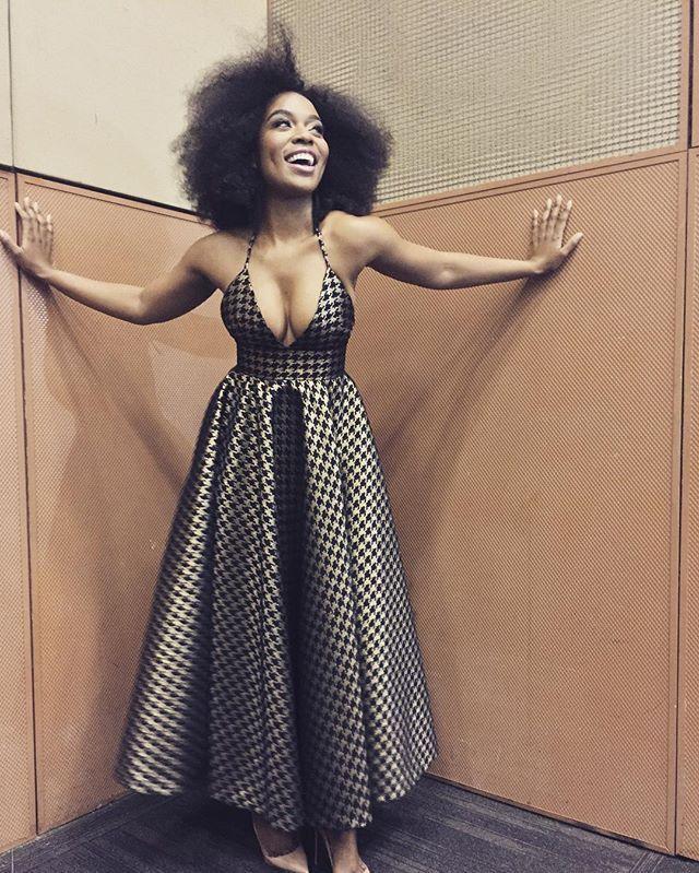 WEBSTA @ nomzamo_m - It's a wrap! Thank you @kznfc and @mapitso_designer for this stunning dress! #SimonSabelaAwards #NubianPrincess