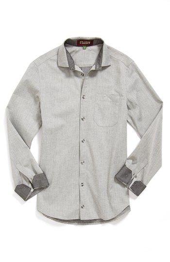 O'Harrow 'Harman O'Harrow' Chambray Sport Shirt available at #Nordstrom
