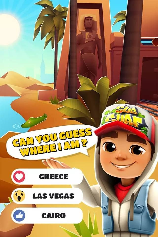 Can You Guess Where I Am Source Https Gamesmodapk Info Subway Surfers Game Subway Surfers Surfer