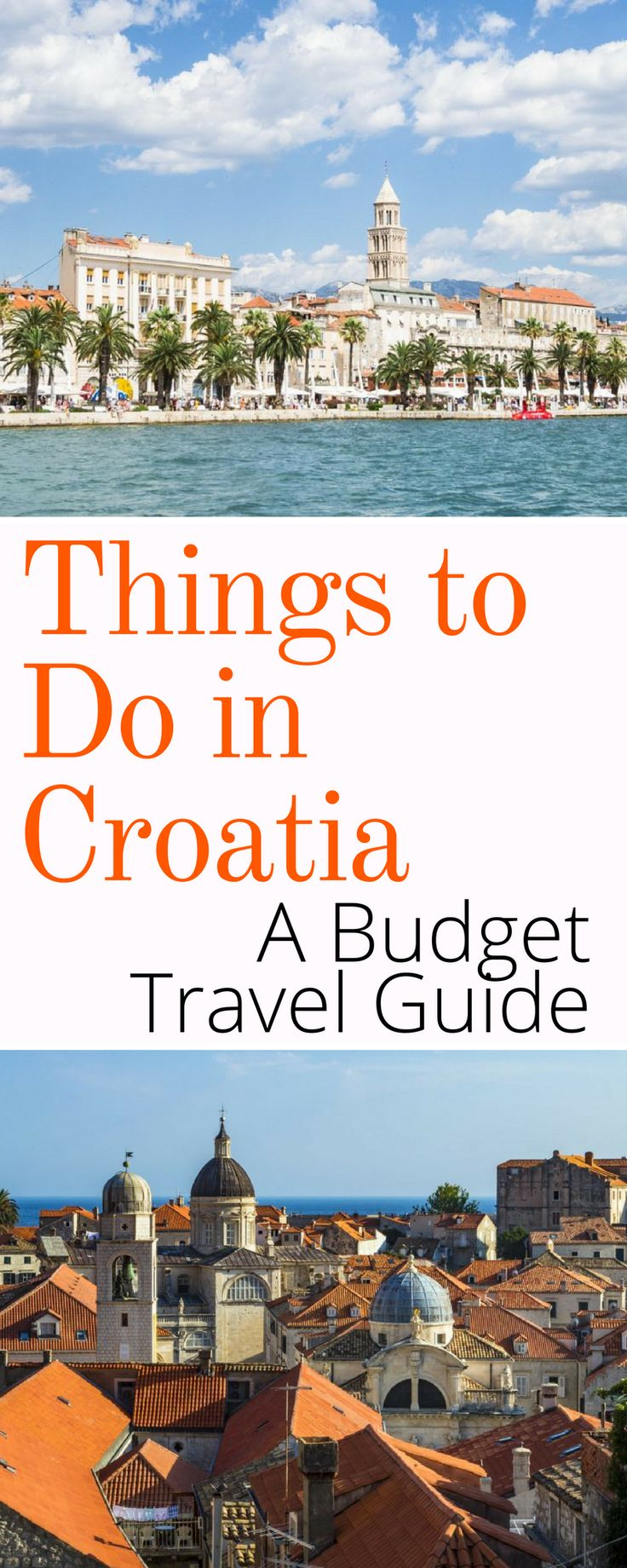 Croatia Budget Travel Guide: The top things to do and places to see in Croatia on a budget. Zagreb, Split, Dubrovnik, and much more! Click here to see how to plan a budget vacation in Croatia.