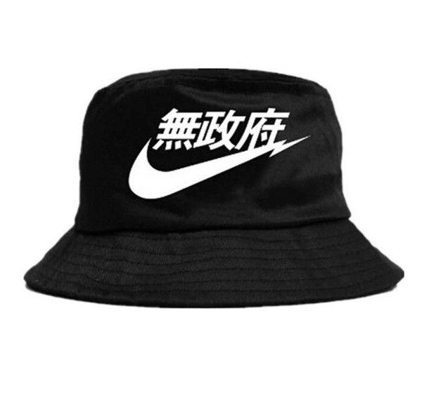 Kanji Nike Streetwear Bucket Hat