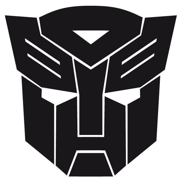 Adhesivo de vinilo del Autobot de Transformers adhesivo - Comics y Videojuegos - decalsmania.com - Tu tienda de pegatinas de vinilos para el coche