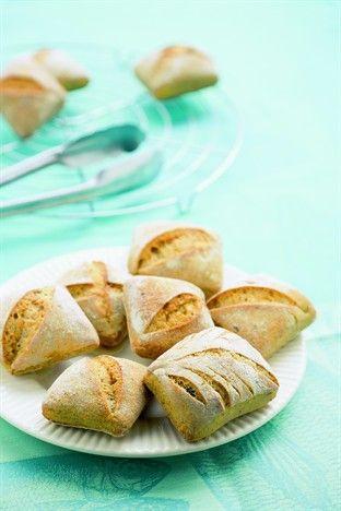 Le petit pain de Kamut® aux algues