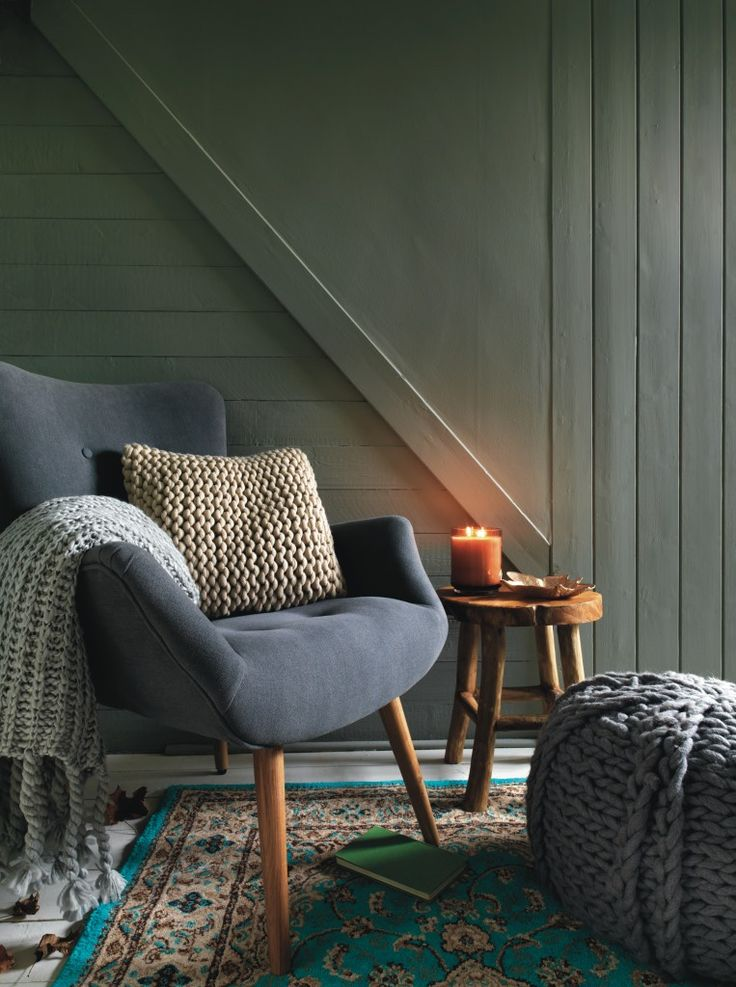 We could write a book on reading chairs, glowing candles and toasty knits and throws. But that's only the beginning.