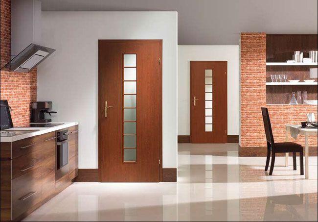 Качественные двери ПВХ визуально не уступают даже деревянным