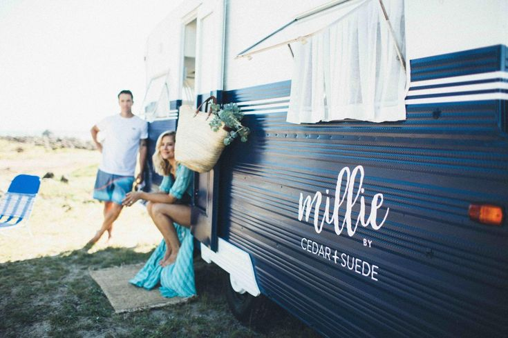 Millie; our 1966 Millard Florida vintage caravan renovation.