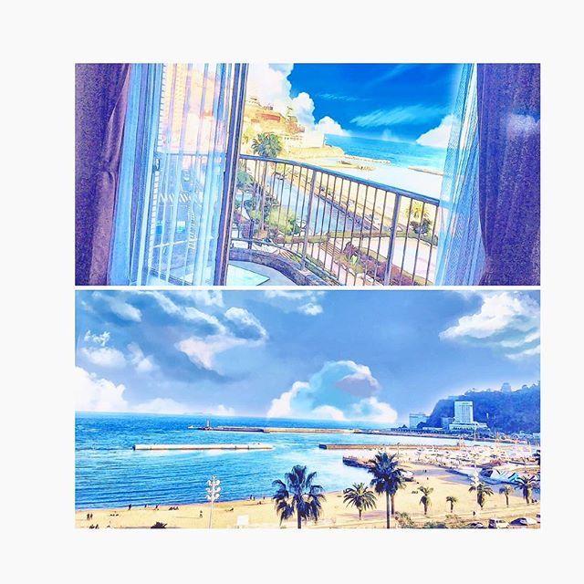【ekuuu】さんのInstagramをピンしています。 《熱海‼︎ . たまには  なーーんにもしない贅沢。 . #2017#お正月#旅行#熱海#熱海シーサイドスパリゾート#全室#オーシャンビュー#海#熱海サンビーチ#温泉#贅沢#ぐーたら#たまには#いいよね#冬の海もキレイ#写真》
