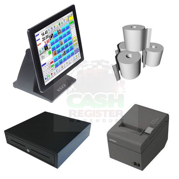 NEXA NP-1651 POS SYSTEM BUNDLE - Software Included