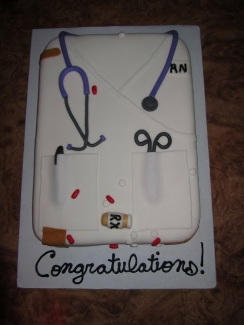 Sweetaprils: Nursing School Graduation Party Ideas {From Sweets Indeed and more!}