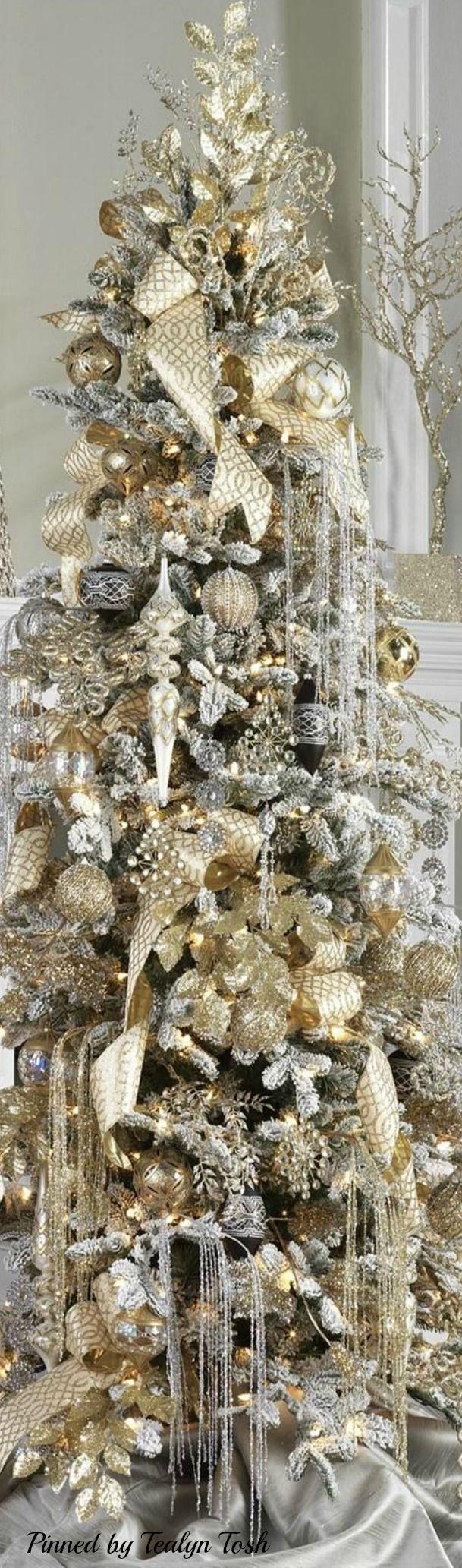 Stylish Elegant Glitzy Gold & Silver