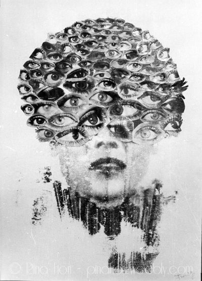 L'uomo disabitato (la vista) - © Pina Fiori #art #painting #artlovers #modernart #artsblog #artgallery #arte #eyes