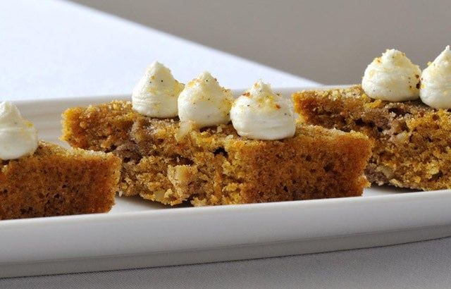 Nathan Outlaw's Carrot Cake recipe is lovingly garnished with a cream cheese icing and can be made in under an hour. Try with a cup of tea or coffee