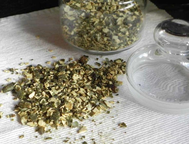 Gomasio z dýňových semínek