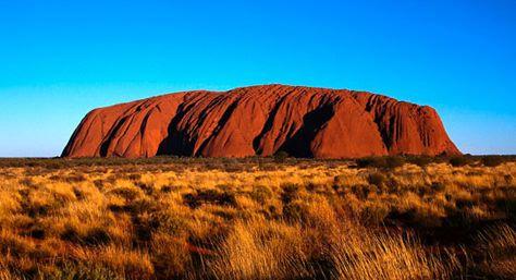 Uluru, Ayers Rock - need to see it when it's not raining