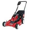 Toro's new 20360 e-Cycler cordless electric mower delivers both power and performance in an environmentally friendly package. The e-Cycler is built with the same high performance standards as Toro's popular Recycler Series gas mowers.     A great choice for homeowners with typical urban-sized yards, this 36-volt rechargeable mower can take on a 7,500 square-foot lawn under normal mowing conditions in a single charge. Weighing in at only 77 pounds, it's also lighter than most electric mowers.