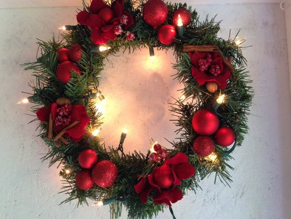 Hey, I found this really awesome Etsy listing at https://www.etsy.com/listing/238585126/christmas-wreath-lighted-wreath-winter