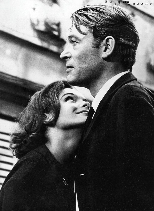 Romy Schneider with Peter O'Toole