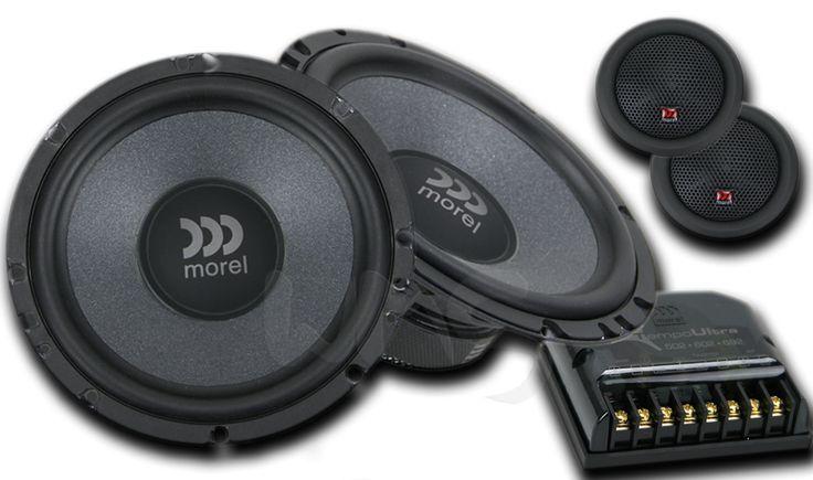 """Morel Tempo Ultra 602 компонентная акустика, 6,5"""" (16,5 см), 120 Вт Купить в интернет-магазине автозвука w-m-s.ru"""