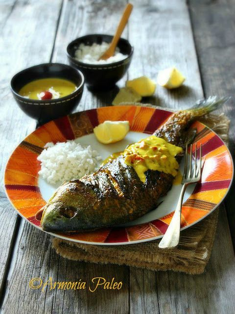 Armonia Paleo: Samaki wa Kupaka - Pesce alla Griglia con Salsa al...